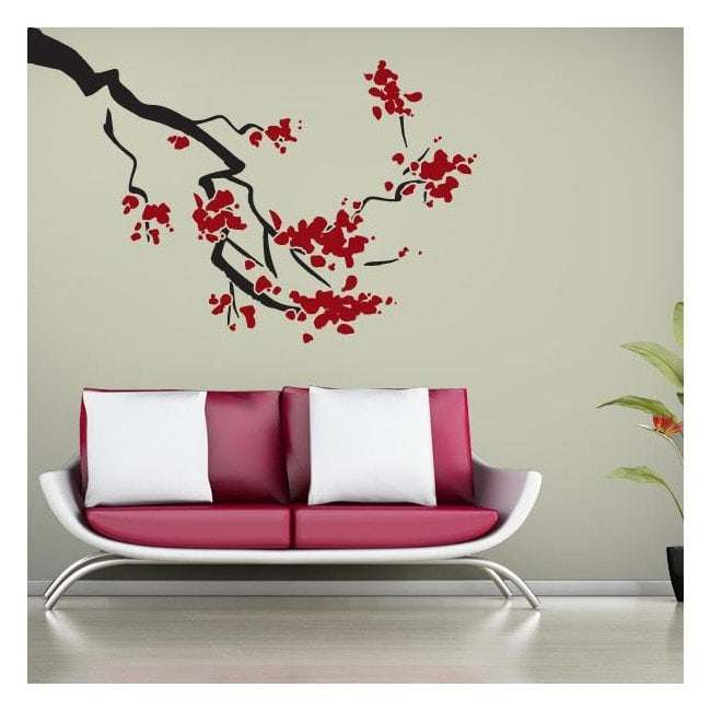 Vinile decorativo di Cherry Blossom