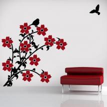Fiori decorativi vinile a colori