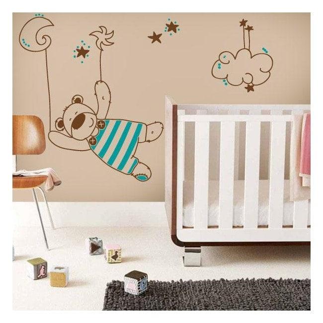 Vinile decorativo dolci sogni dei bambini