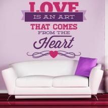Pannelli luminescente dividendo fluowall amore romantico