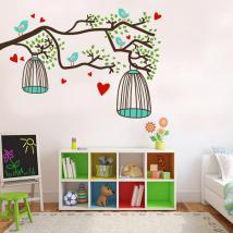 Adesivi murali di natura color