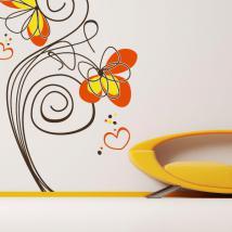 Fiori decorativi vinile d'amore French 771