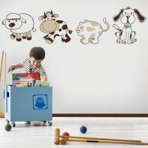 Animali di vinile bambini Kit