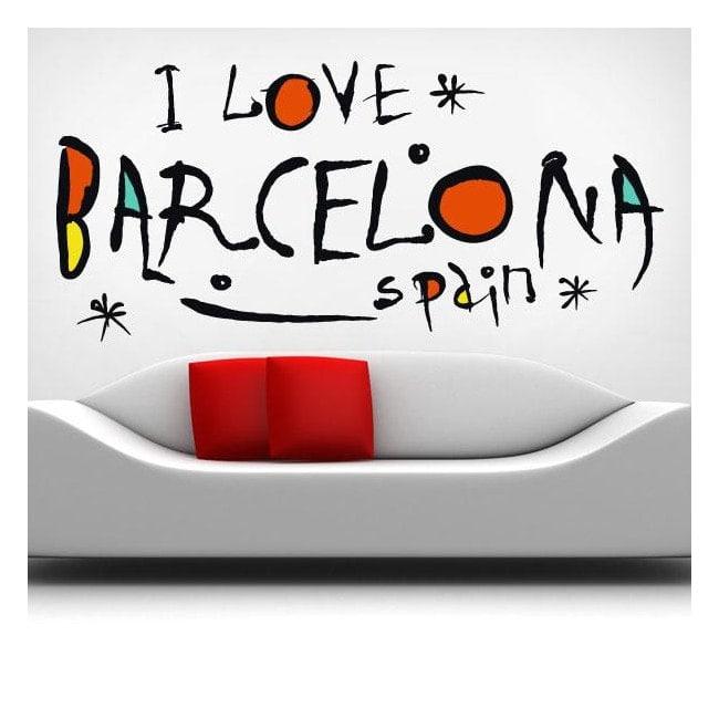 Vinile amo Barcellona Spagna