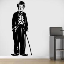 Vinile decorativo Charles Chaplin