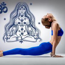 Pannelli luminescente dividendo fluowall meditazione di rilassamento Yoga