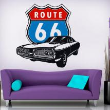 Route 66 di vinile decorativo