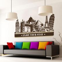 Città di vinile godere il vostro soggiorno