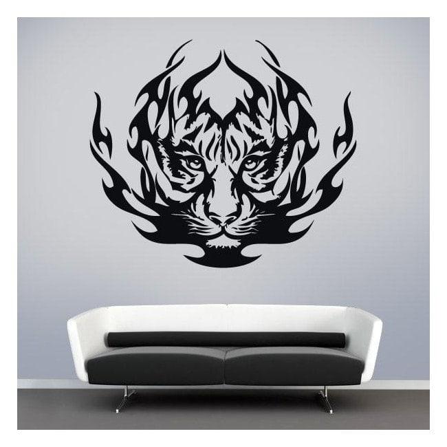 Animale vinile tigre tribale