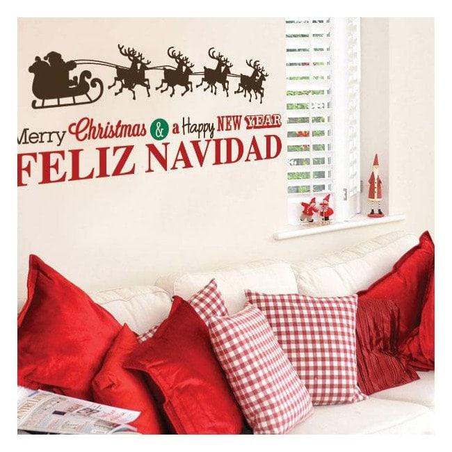 Vinile Natale felice anno nuovo