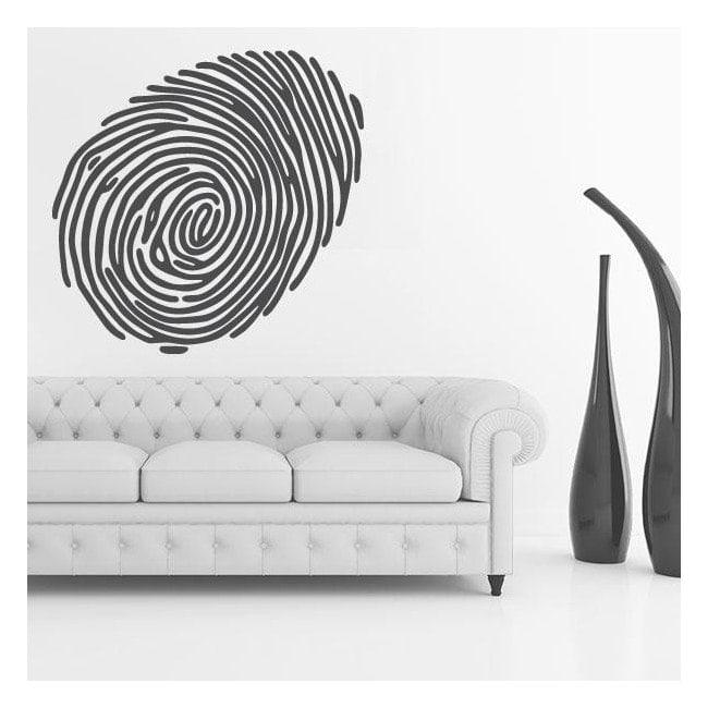 Impronta di vinile decorativo
