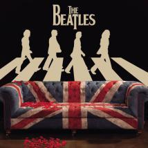 Adesivi e vinile The Beatles Abbey Road