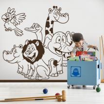 Vinile zoo animali bambini