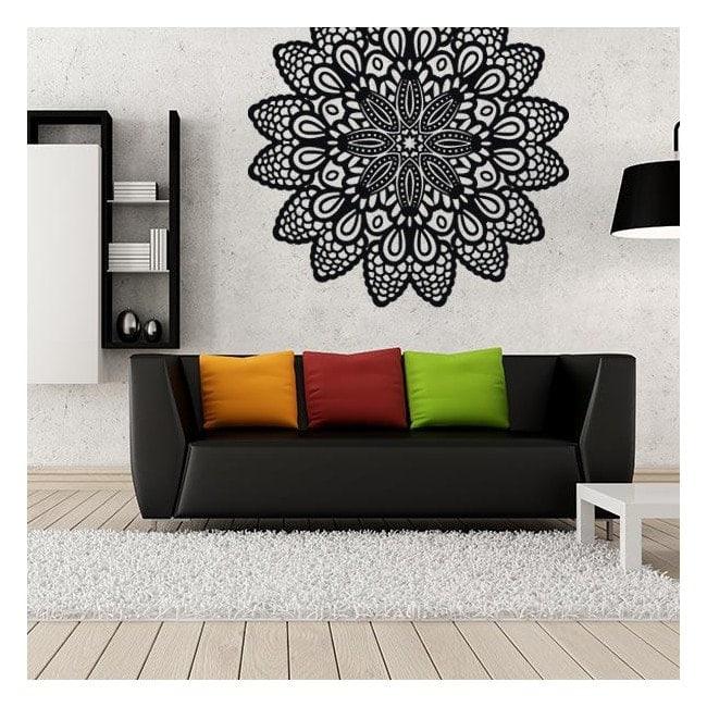 Adesivi parete rosetta for Adesivi parete 3d