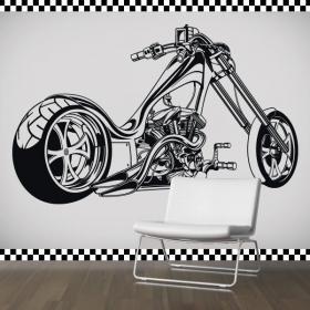 Adesivi in vinile e adesivi moto Chopper
