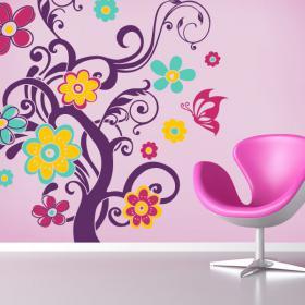 Collanti e adesivi colori vinile della natura
