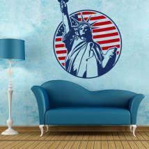Statua decorativa del vinile della libertà di New York