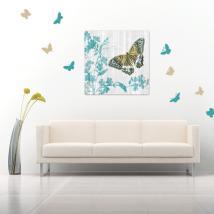 Adesivi in vinile decorativo e adesivi farfalle