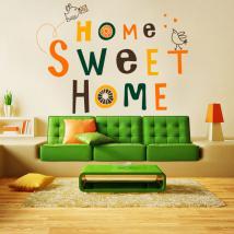 Home Sweet Home vinile e adesivo decorativo
