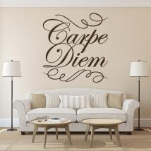Vinile decorativo Carpe Diem