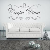 Adesivi in vinile decorativo Carpe Diem