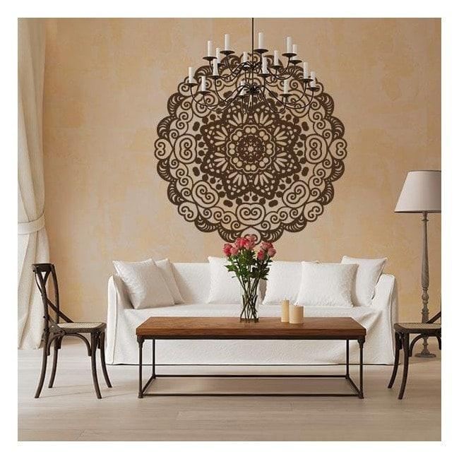 Adesivi decorazione parete Mandala
