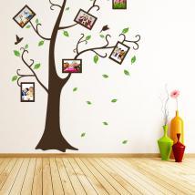 Adesivi parete foto albero di famiglia