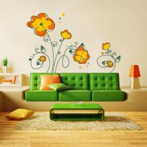 Vinile decorativo floreale primaverile