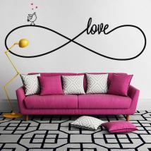 Vinile decorativo autoadesivo amore