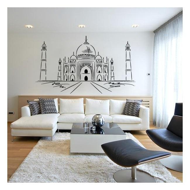 Pannelli luminescente dividendo fluowall Taj Mahal