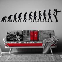Evoluzione di vinile decorativo Jackson