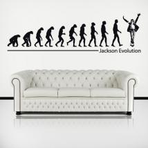 Vinile decorativo Michael Jackson Evolution