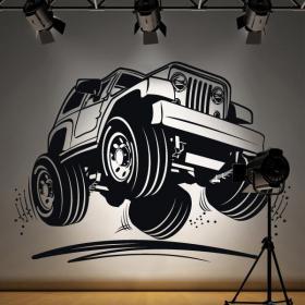Vinile decorativo Jeep