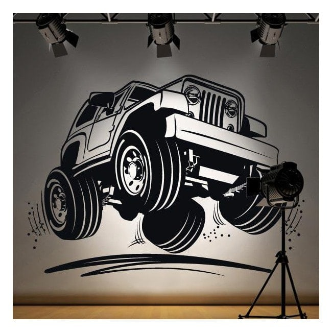 Vinile decorativo Jeep