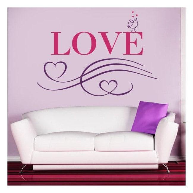 Amore di vinile decorativo Italian 1123