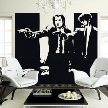 Vinile adesivo decorativo Pulp Fiction