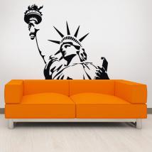 Statua di vinile decorativo della libertà