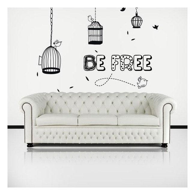 Vinile decorativo Be Free