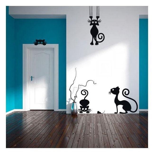 Pannelli luminescente dividendo fluowall gatti