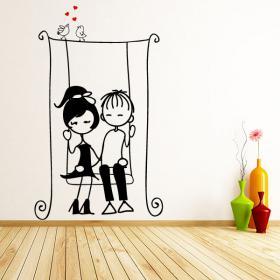 Amanti del vinile decorativi bambini