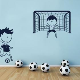 Calcio vinile decorativi bambini