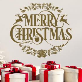Testo di vinile Natale buon Natale