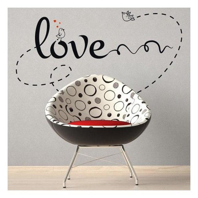Decorare pareti amore frasi amore