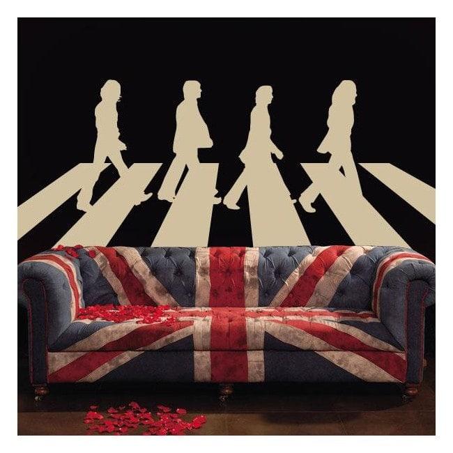 Vinile decorativo The Beatles Abbey Road
