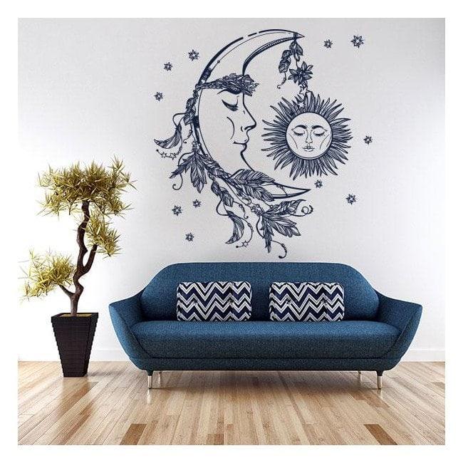 Vinile mistica del sole e della luna