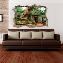 Vinili 3D parete Ta Prohm
