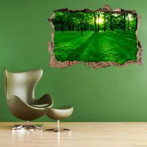 Parete 3D vinile hollow Park