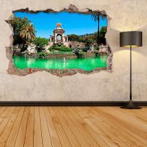 Sorgente 3D vinile Parque De La Ciudadela