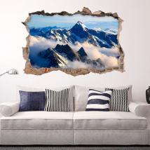 In montagna le nubi 3D vinile