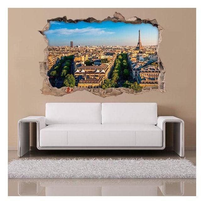Vinile 3D Parigi Italian 4543